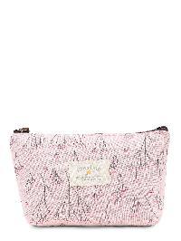 Graphic Print Zipper Makeup Bag