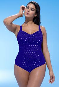 Swim365 Deep Blue Silver Stud 26-34 Swimsuit