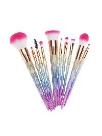 Ombre Matte Makeup Brush 10pcs