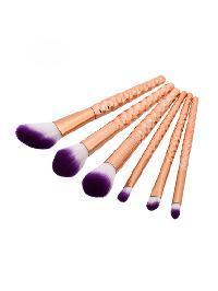 Honeycomb Design Cosmetic Brush 6pcs