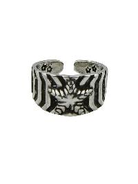 Punk Rock Design Big Metal Rings for Ladies