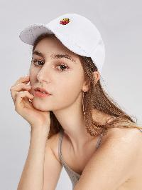 French Fries Embroidery Baseball Cap