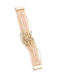 Bar Detail Layered Bracelet