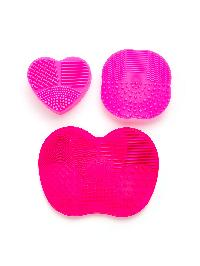 Makeup Brush Cleaning Palette 3pcs