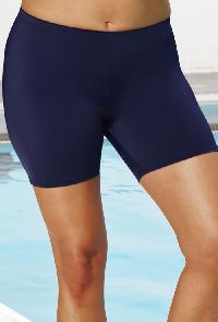 Chlorine Resistant Navy Bike Short