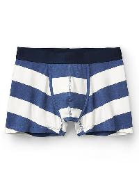 Gap Rugby Stripe Stretch Trunks - Blue allure