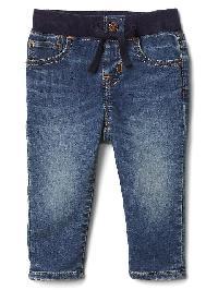 Gap 1969 First Supersoft Easy Slim Jeans - Dark indigo