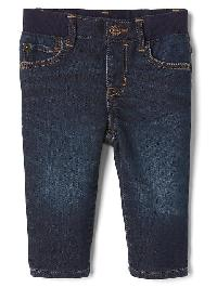 Gap 1969 His First Supersoft Straight Jeans - Dark wash