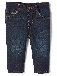 Gap 1969 His First Supersoft Straight Jeans - Dark wash