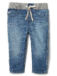Gap 1969 First Easy Slim Jeans - Light wash