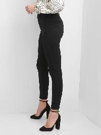 Gap High Rise Sculpt Seamed Leggings - True black