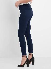 Gap High Rise Sculpt Seamed Leggings - True indigo