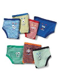 Gap Monster Days Of The Week Briefs - Multi