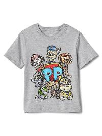 Gap Paw Patrol� Crew Tee - Grey heather