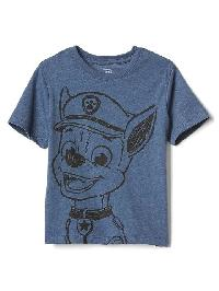 Gap Paw Patrol� Crew Tee - Blue denim heather