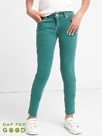 Gap High Stretch Teal Super Skinny Jeans - Velvet teal 641