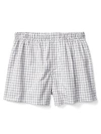 "Gap Gingham 4.5"" Boxers - Grey gingham"