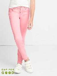 Gap High Stretch Pink Super Skinny Jeans - Impatient