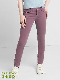 Gap High Stretch Purple Super Skinny Jeans - Novie purple