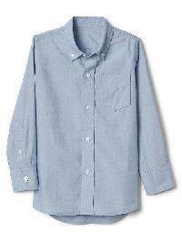 Gap Button Down Shirt - Light blue