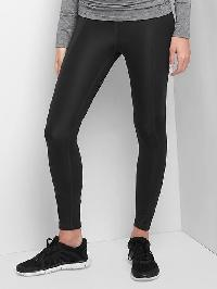 Maternity Gapfit Sculpt Compression Gfast Full Panel Leggings - True black