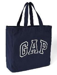 Gap Logo Tote - Navy base blue