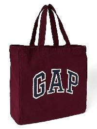 Gap Logo Tote - Pinot noir