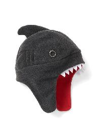 Gap Pro Fleece Shark Trapper Hat - Heather brown