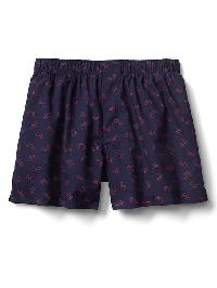 "Gap Poplin Print 4.5"" Boxers - Bicycles"
