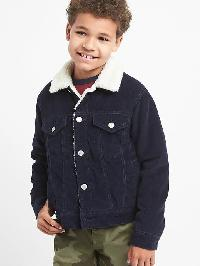 Gap Cozy Corduroy Jacket - True indigo