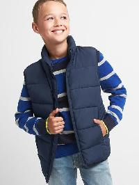 Gap Puffer Vest - True indigo