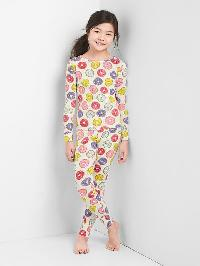Gap Print Sleep Set - New off white