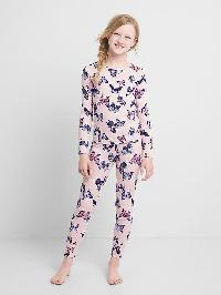 Gap Print Sleep Set - Pink