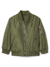 Gap Twill Flight Jacket - Desert cactus