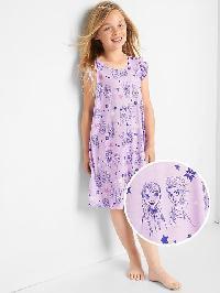 Gapkids &#124 Disney Frozen Flutter Nightgown - Gauzy lilac