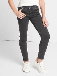Gap High Stretch Super Skinny Jeans - Washed black