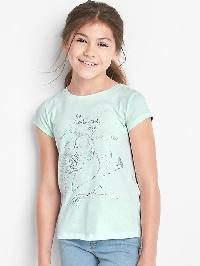 Gapkids &#124 Disney Foil Short Sleeve Tee - Glass of water