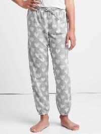 Gap Heart Jacquard Pj Pants - H. grey b08 7062