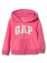 Gap Pro Fleece Logo Zip Hoodie - Pink light