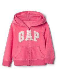 Gap Pro Fleece Logo Zip Hoodie - Pink light