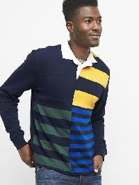 Gap Mix Stripe Rugby Shirt - Multi