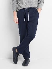 Gap Double Knit Pintuck Pants - Tapestry navy