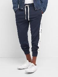 Gap Athletic Stripe Jogger - Tapestry navy