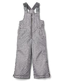 Gap Ecopuffer Snow Pants - Gray heather/white