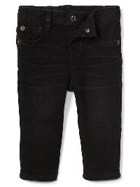 Gap My First Super Soft Skinny Jeans - True black