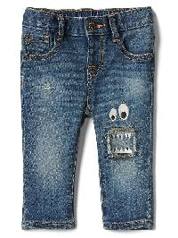 Gap My First Super Soft Monster Skinny Jeans - Light wash