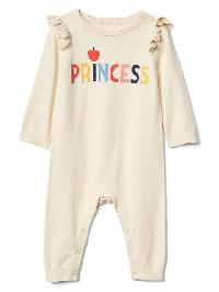 Babygap &#124 Disney Baby Snow White And The Seven Dwarfs Sweater One Piece - French vanilla