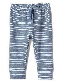 Gap Stripe Soft Terry Leggings - True indigo