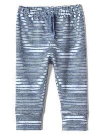 Gap Stripe Soft Terry Leggings - True indigo