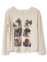 Gap &#124 Star Wars� Embellished Split Back Tee - Oatmeal